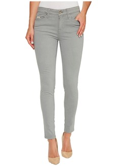 Calvin Klein Garment Dyed Ankle Skinny Pants in Monument