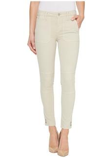 Calvin Klein Garment Dyed Cargo Ankle Skinny Pants