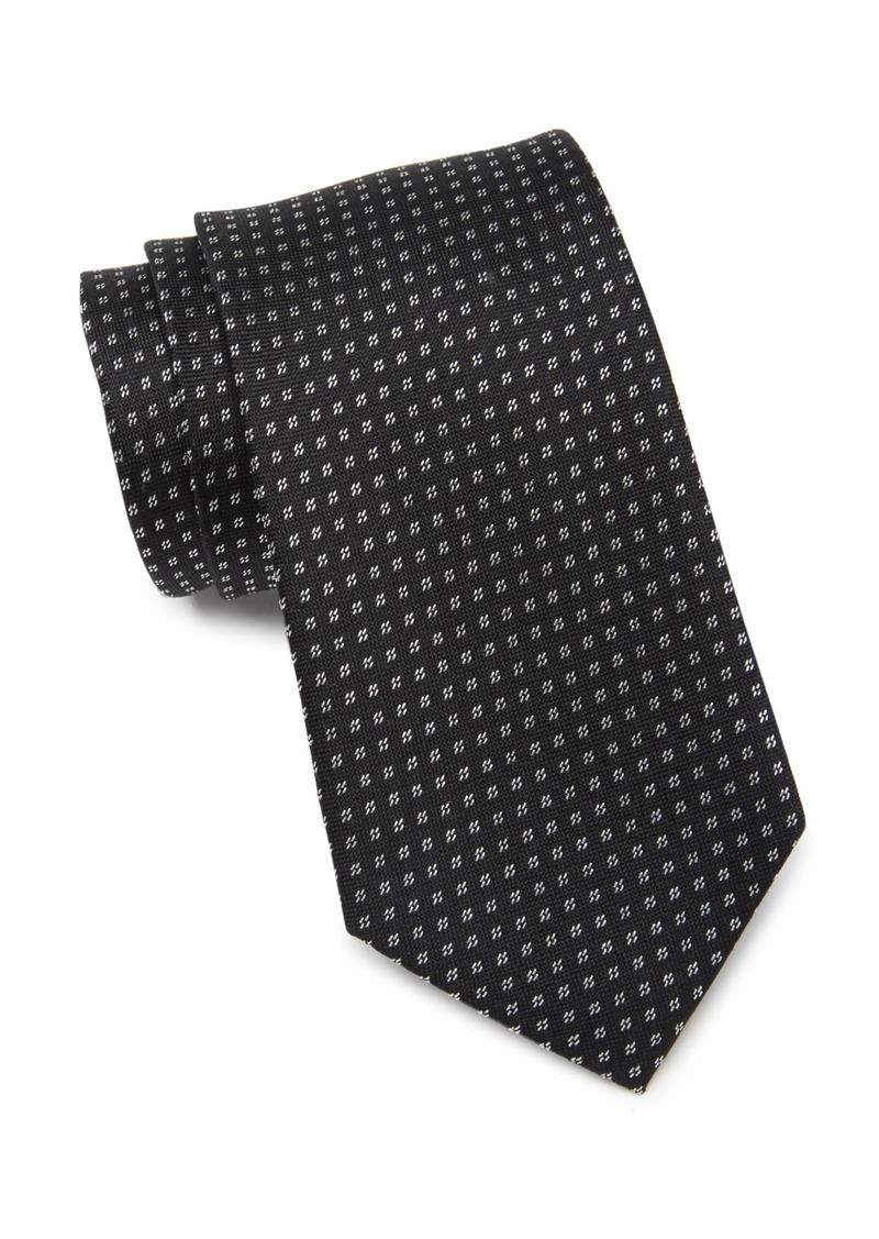 Calvin Klein Geo Lurex Tie
