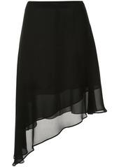 Calvin Klein Georgette layered skirt