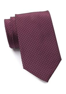 Calvin Klein Glint Check Tie - XL