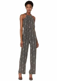 Calvin Klein Glitter Knit Jumpsuit