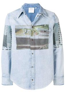 Calvin Klein Graphic cotton western shirt