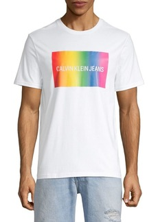 Calvin Klein Graphic Logo Cotton Tee