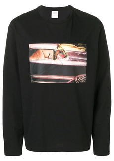 Calvin Klein graphic long sleeve T-shirt