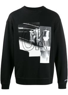 Calvin Klein graphic print sweatshirt