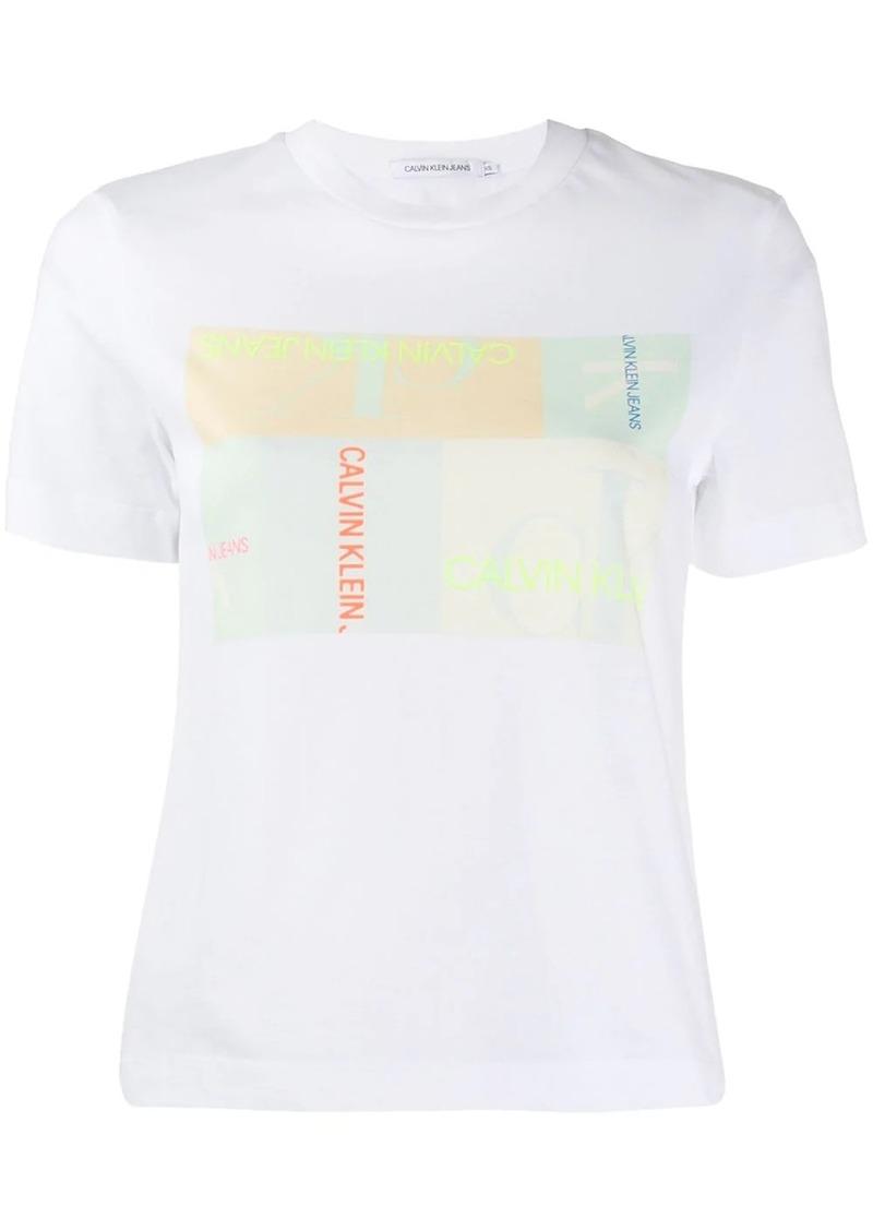 Calvin Klein graphic-print T-shirt