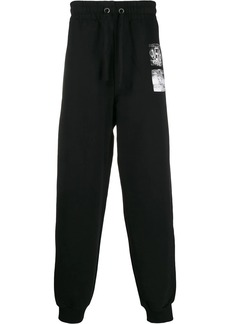 Calvin Klein graphic print track pants