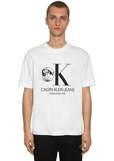 Calvin Klein Graphic Printed Cotton T-shirt