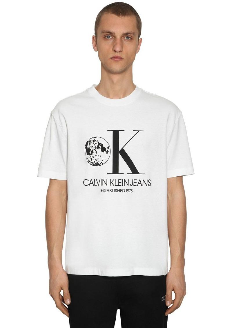 Calvin Klein Graphic Printed Cotton T-shirt