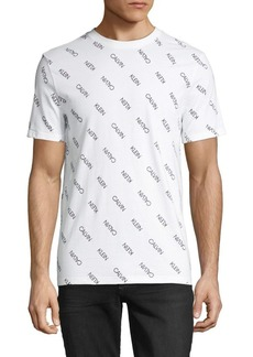 Calvin Klein Graphic Short-Sleeve Cotton Tee