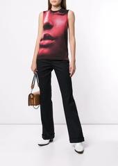 Calvin Klein half face print tank top