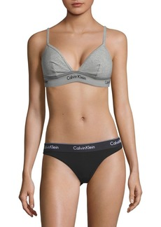 Calvin Klein Heritage Athletic Unlined Triangle Bra