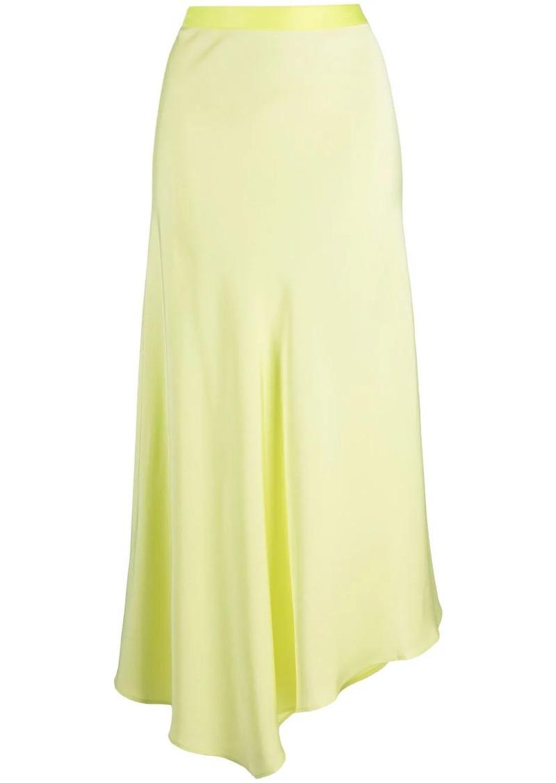 Calvin Klein high-low hem skirt