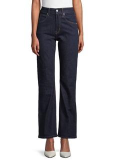 Calvin Klein High-Rise Bootcut Jeans