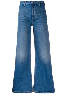 Calvin Klein high rise flared jeans