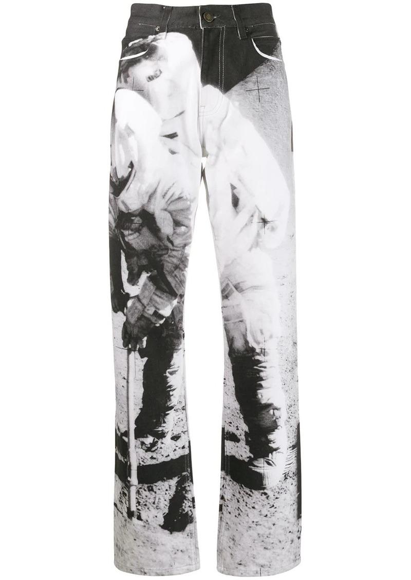 Calvin Klein high rise Moon Landing jeans