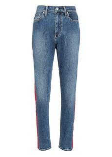 Calvin Klein Red Side Stripe Jeans