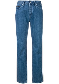 Calvin Klein high rise tapered jeans