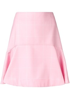 Calvin Klein high waisted flared skirt