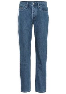 Calvin Klein High-waisted taped jeans