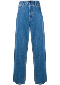 Calvin Klein high waisted wide leg jeans