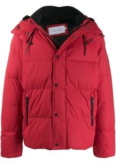 Calvin Klein hooded padded coat