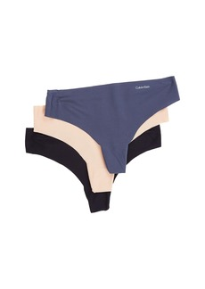 Calvin Klein Invisibles 3-Pack Thong