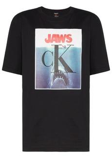 Calvin Klein Jaws logo print T-Shirt