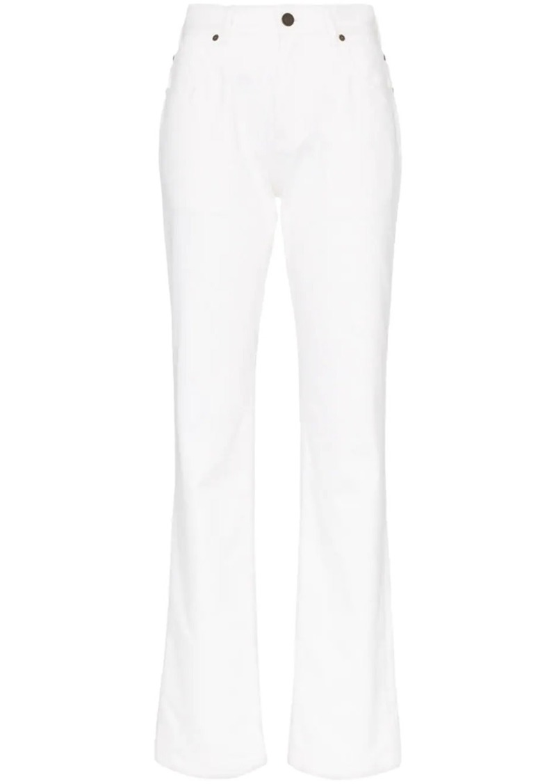 Calvin Klein Jaws pocket detail straight leg jeans
