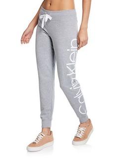 Calvin Klein Jogger Pants w/ Jumbo Side Logo