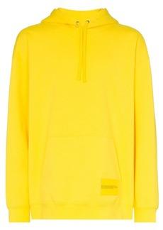 Calvin Klein kangaroo pocket embroidered hooded jumper