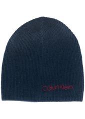 Calvin Klein knitted beanie hat