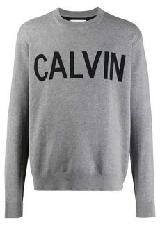 Calvin Klein knitted logo sweatshirt