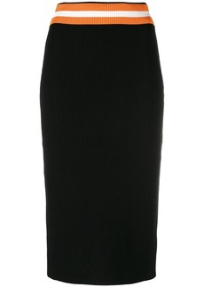 Calvin Klein knitted pencil skirt