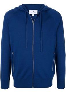 Calvin Klein knitted zip hoodie