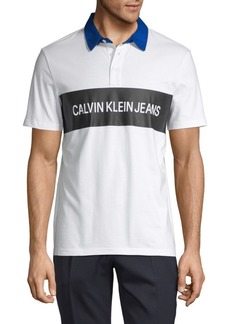Calvin Klein Knock Out Logo Short-Sleeve Shirt