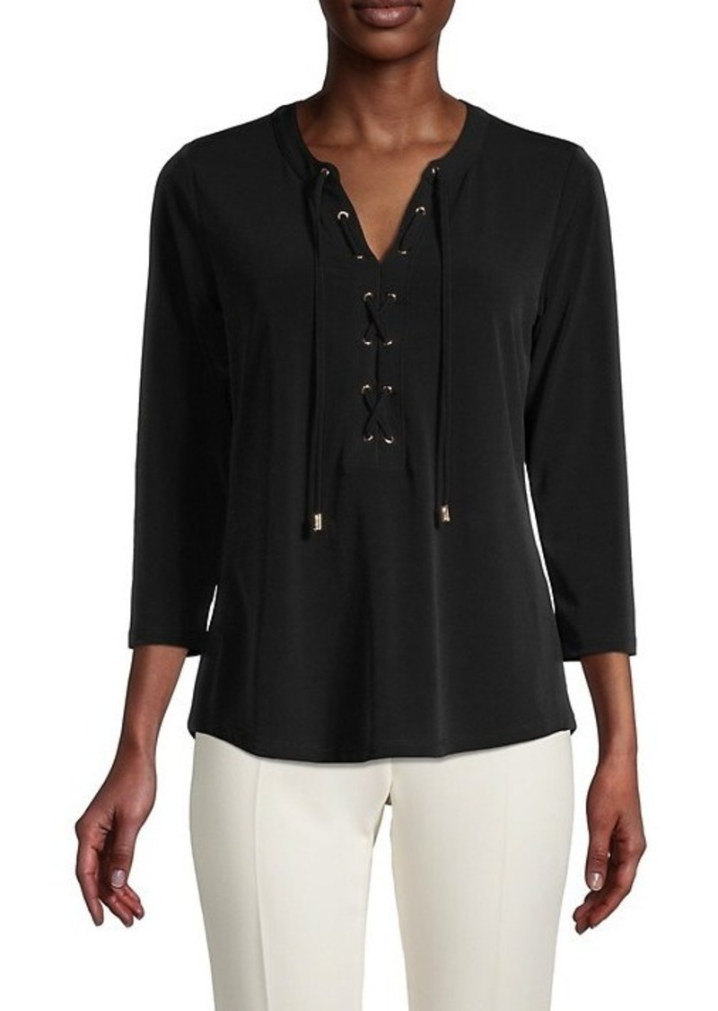 Calvin Klein Lace-Up Top