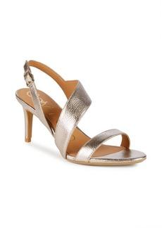 Calvin Klein Lancy Metallic Strappy Sandals