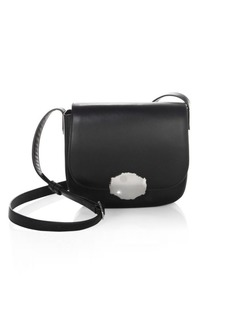 Calvin Klein Leather Saddle Bag