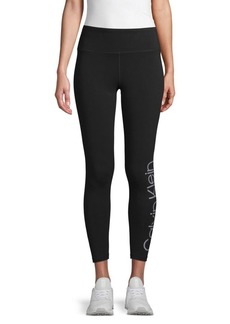 Calvin Klein Logo Active Leggings