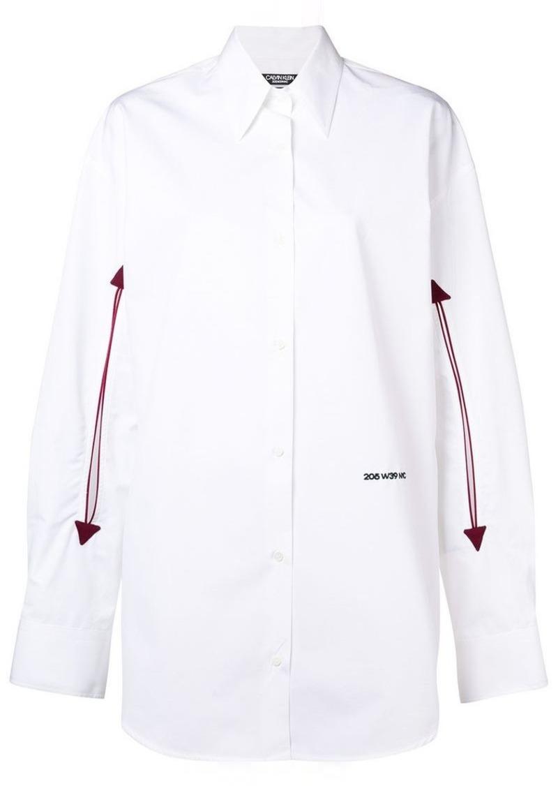 Calvin Klein logo arrow shirt