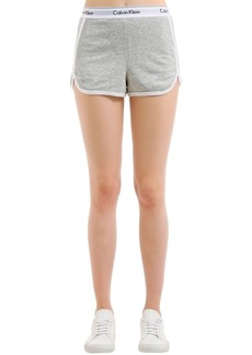 Calvin Klein Logo Band Cotton Sweat Shorts