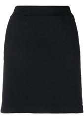 Calvin Klein logo band mini skirt