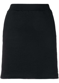 Calvin Klein logo band mini skirt
