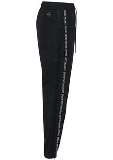 Calvin Klein Logo Band Nylon Track Pants