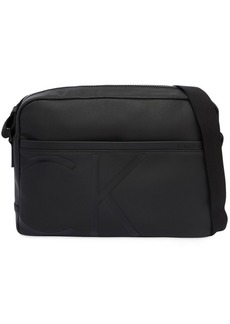 Calvin Klein Logo Coated Fabric Messenger Bag