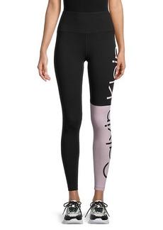 Calvin Klein Logo Colorblock Leggings