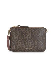 Calvin Klein Logo Convertible Crossbody Bag