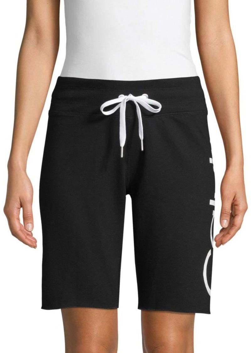 Calvin Klein Logo Cotton-Blend Bermuda Shorts